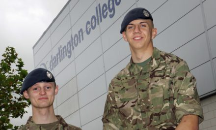 Students flying high after RAF reserve selection success