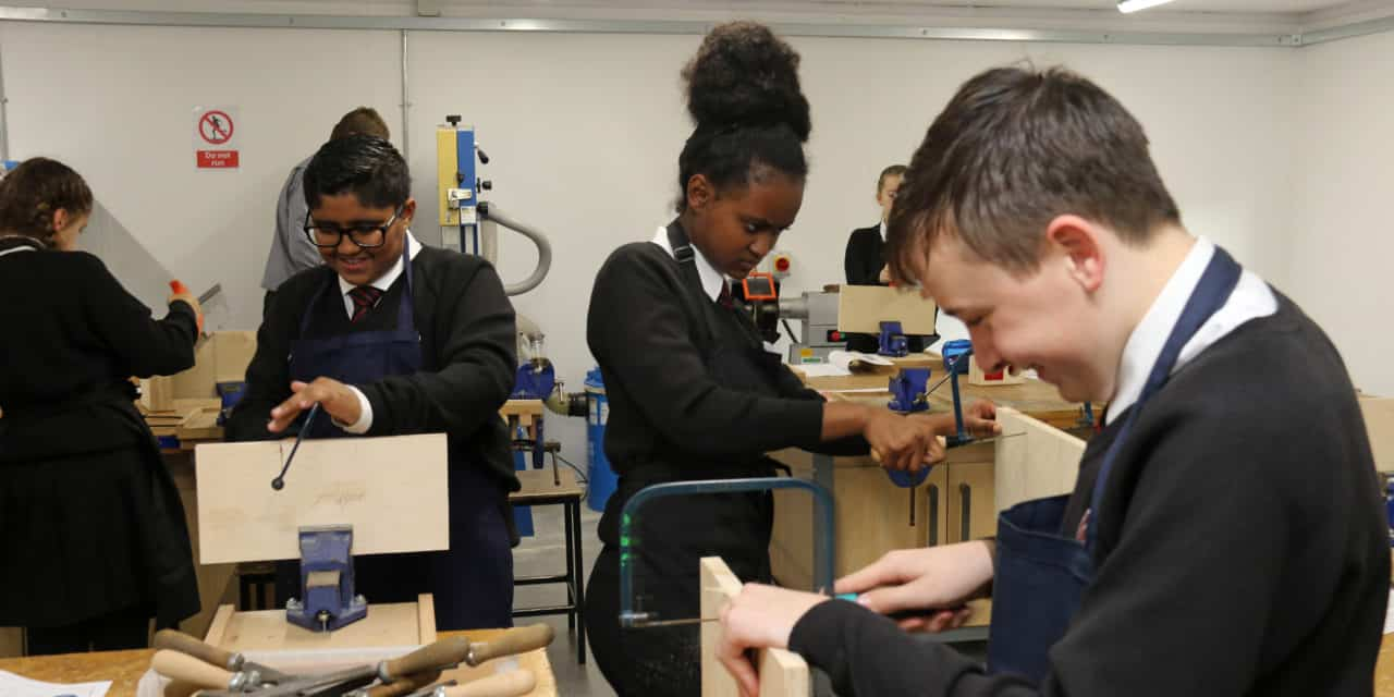 College unveils investment in engineering and science as academy trust makes its mark