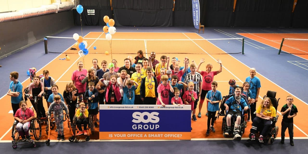 6th YEAR OF NEWCASTLE CHILDREN'S DISABILITY TRIATHLON SPONSORED BY SOS GROUP