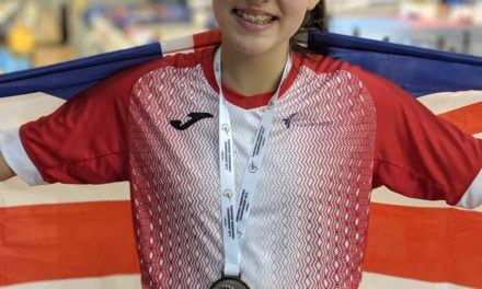 Morgan strikes European silver in taekwondo