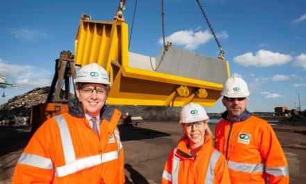 INDUSTRO Solutions supports recycling at Redcar Bulk Terminal with 10-tonne fabrication project