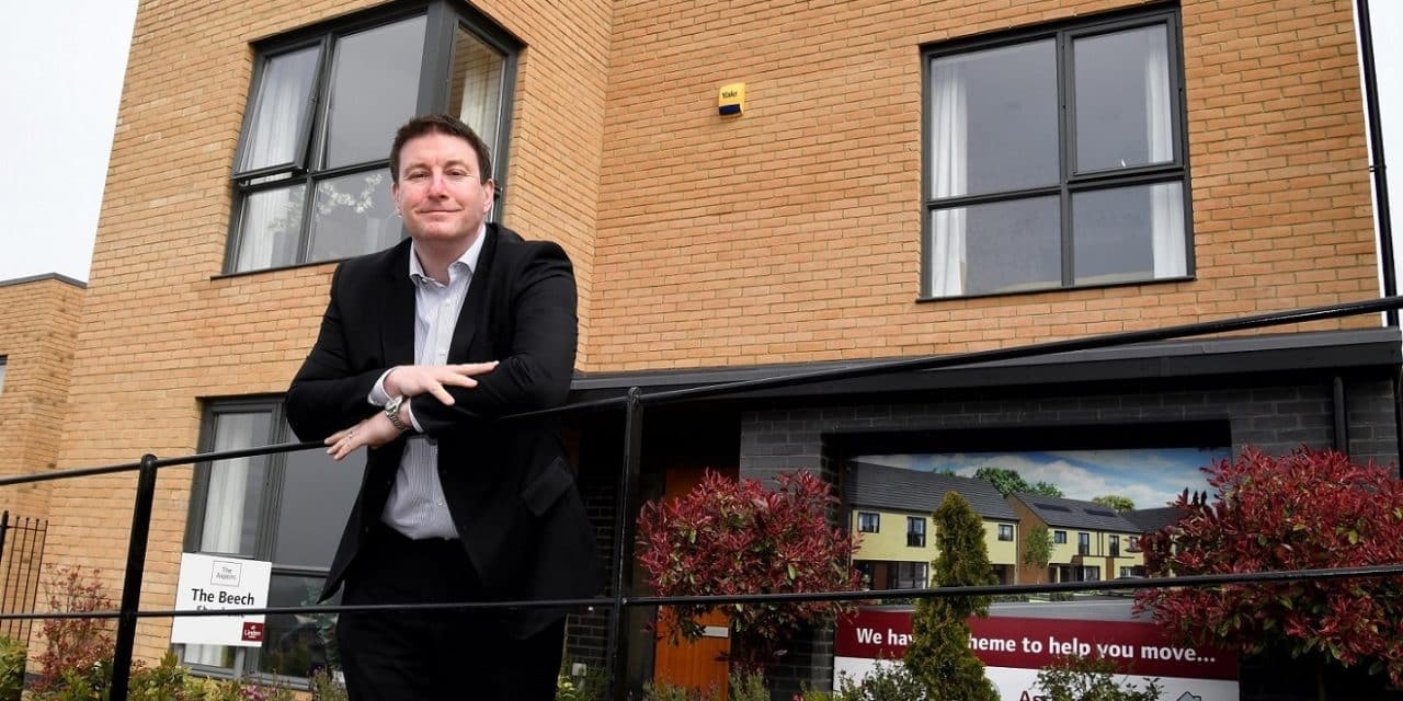 Work underway on the first of over 1,000 new NE homes