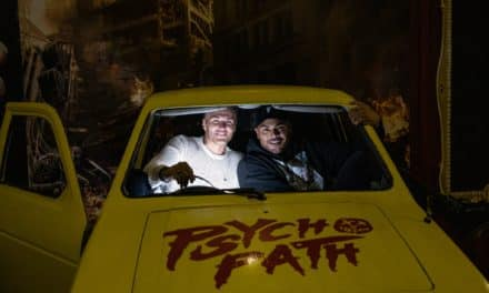 NEW PSYCHO PATH ATTRACTION GETS VIP SEAL OF APPROVAL