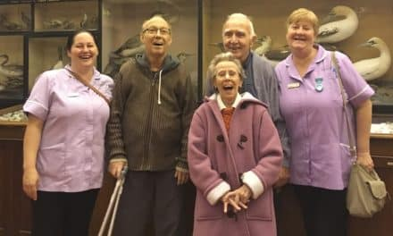 Museum provides a window into the past for elderly residents