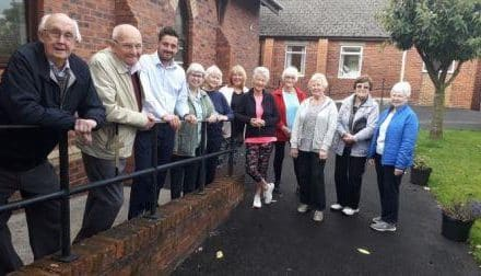 Bradley Fund Grant Smooths The Way For Medomsley Methodist Church Hall