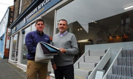 Floorscope 'rolls' out new retail outlet on popular NE high street