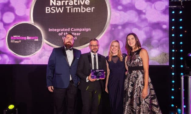 Narrative Claims a Hat-trick at North East Marketing Awards