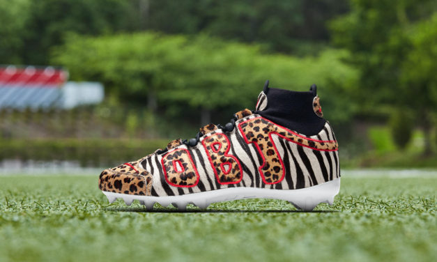 OBJ's Week 5 Pregame Cleat Unleashes the Beast