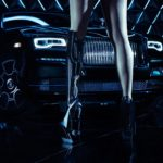 BIONIC PERFORMING ARTIST VIKTORIA MODESTA EMBODIES ROLLS-ROYCE BLACK BADGE
