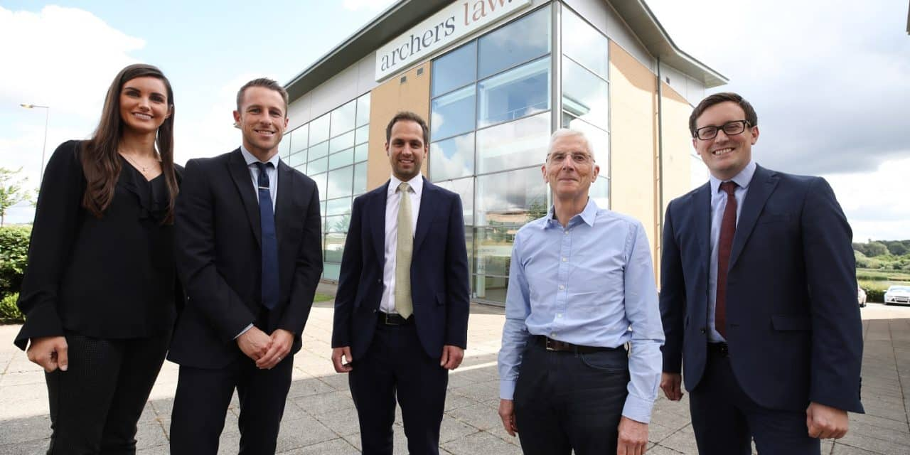 Leading law firm celebrates corporate growth success