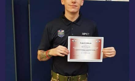 NORTH EAST STUDENT GAINS HIS PARA WINGS