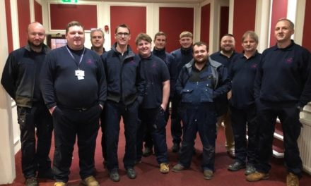 Commercial Maintenance Services UK Ltd invests in safety training for expanding Scottish team