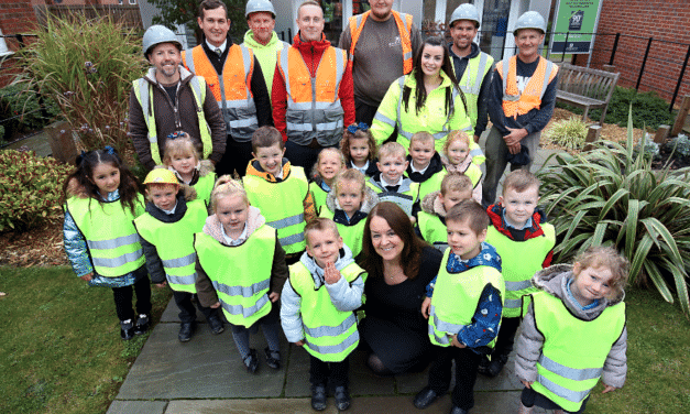Laying the foundations! Local housebuilder educates Spennymoor primary school pupils