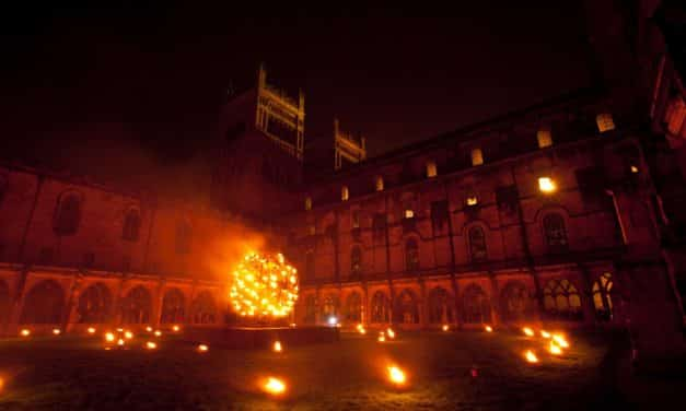Durham-headquartered Hargreaves to provide charcoal to power light installation at 10th Lumiere festival