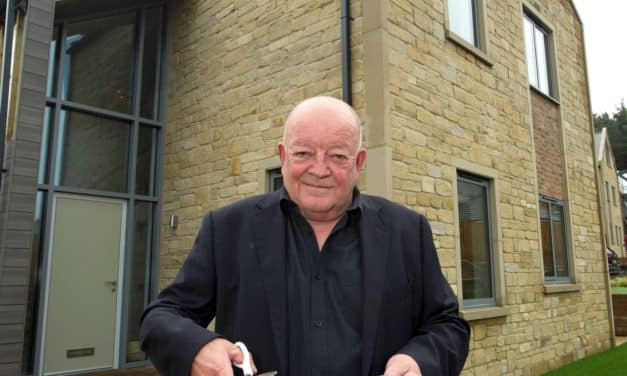Tim Healy opens luxury Hexham housing development