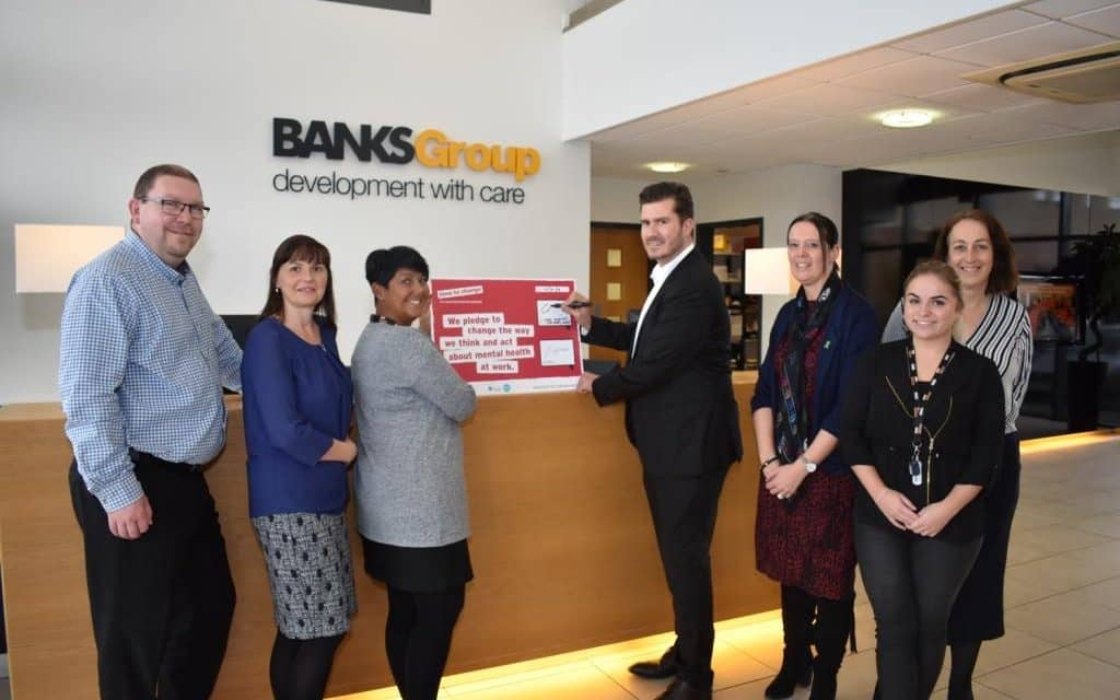 Banks Group Signs Up To 'Time To Change' Mental Health Initiative