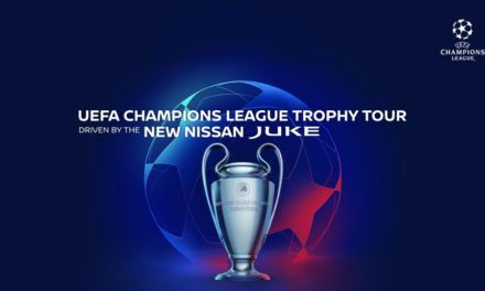 NEXT GENERATION NISSAN JUKE DRIVES THE 2019/20 UEFA CHAMPIONS LEAGUE TROPHY TOUR