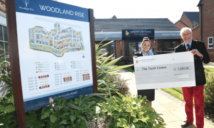 Housebuilder supports the local community group with funding initiative
