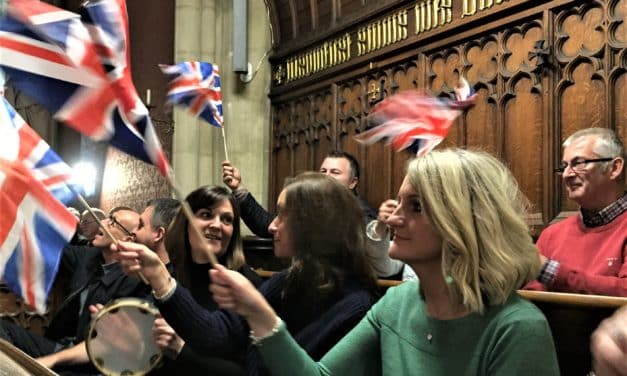 Music-lovers pack into historic chapel for Last Night of the Proms triumph