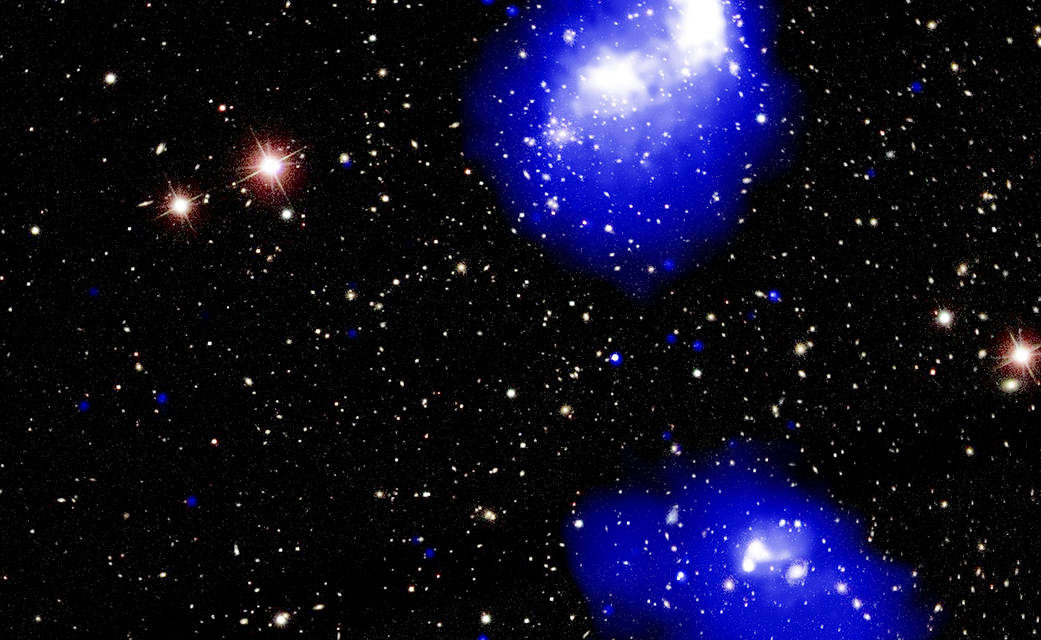 Chandra Spots a Mega-Cluster of Galaxies in the Making