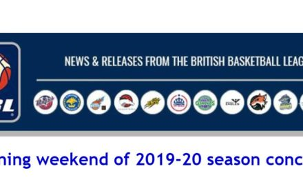 British Basketball News: Opening weekend of 2019-20 season concludes