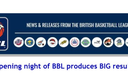 British Basketball News: Opening night of BBL produces BIG results