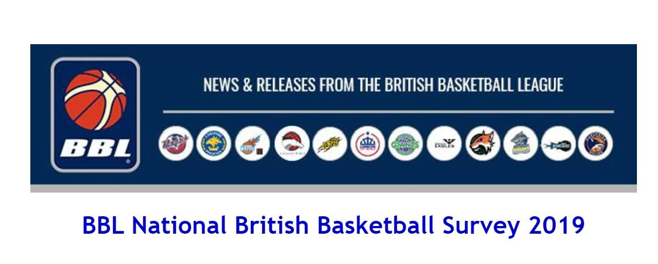 BBL National British Basketball Survey 2019