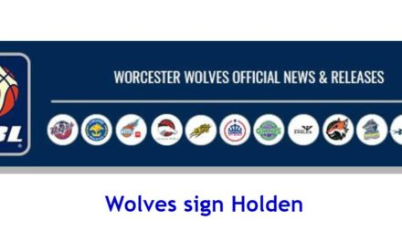 Basketball League News: Wolves sign Holden