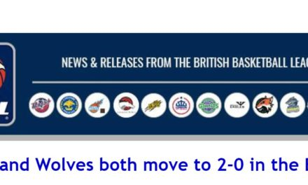British Basketball News: Royals and Wolves both move to 2-0 in the BBL Cup