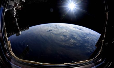 Astronaut Nick Hague Soaks Up Views of Earth