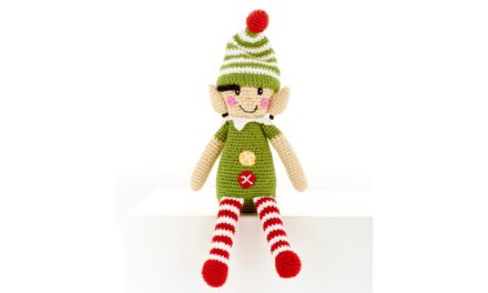 Ethical Hand Crochet Elf