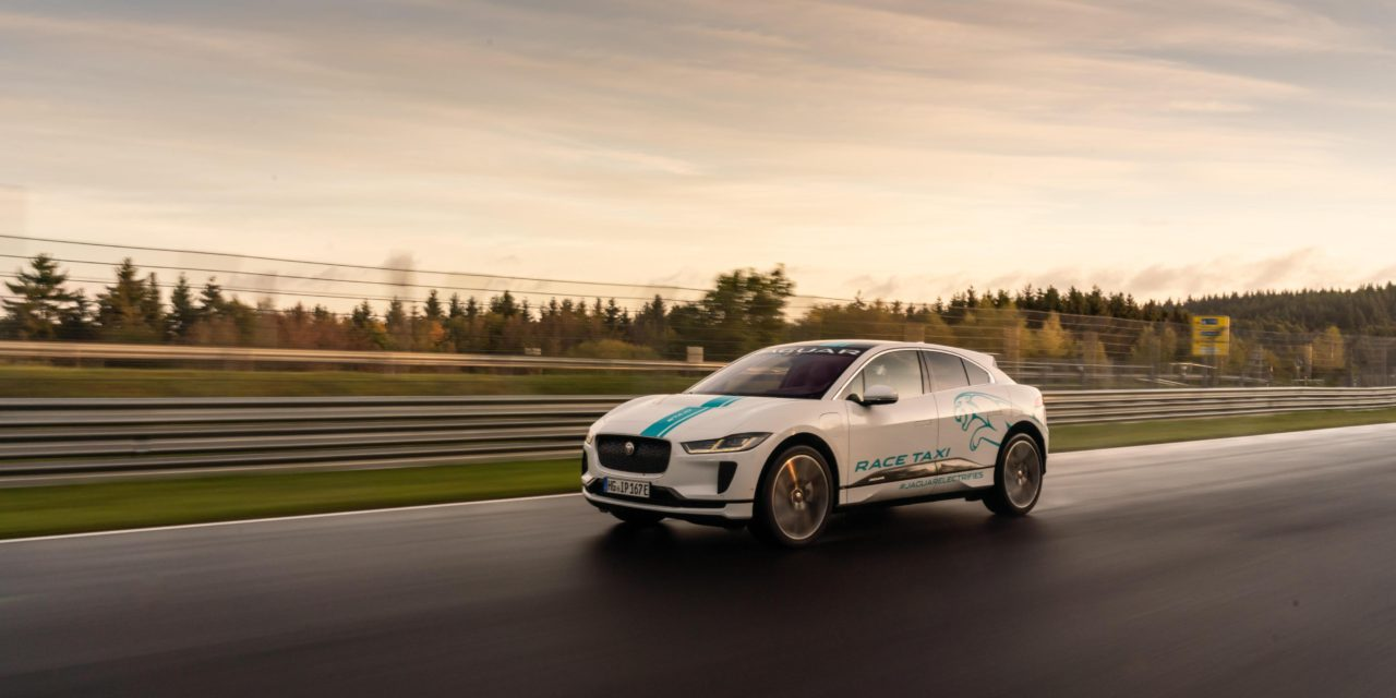 JAGUAR I-PACE IS THE FIRST ALL-ELECTRIC NÜRBURGRING RACE eTAXI