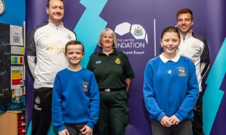 NEWCASTLE CLUB DOCTOR BACKS NEWCASTLE UNITED FOUNDATION'S RESTART A HEART CAMPAIGN