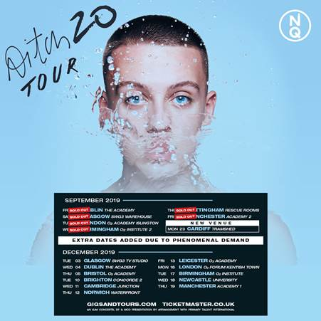 Due to phenomenal demand Aitch has announced extra tour dates for December 2019