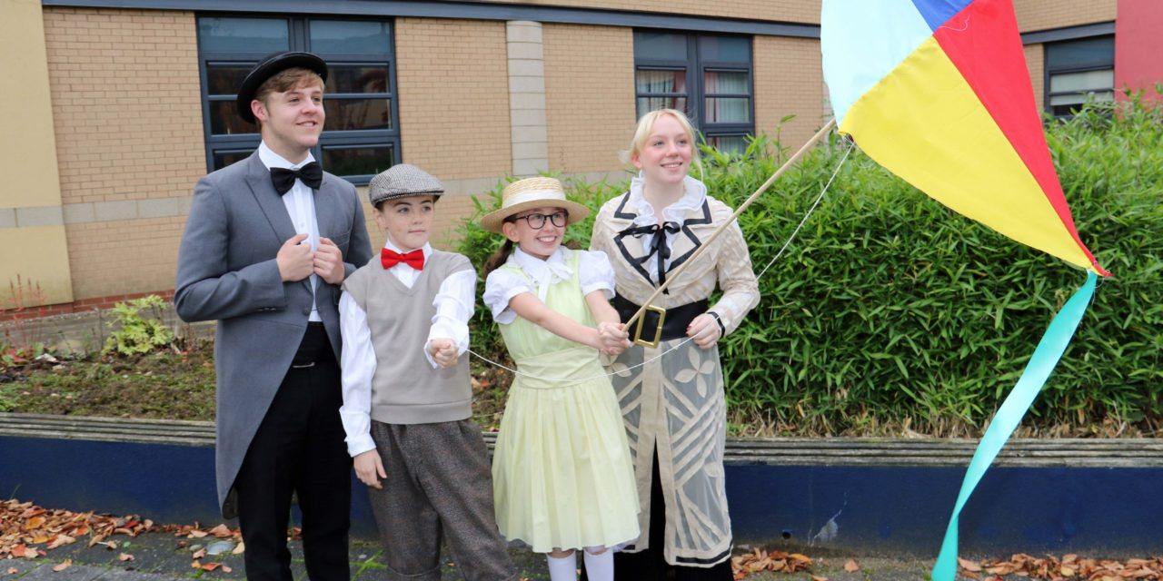 """""""Let's go fly a kite!"""" as students prepare to stage Mary Poppins"""
