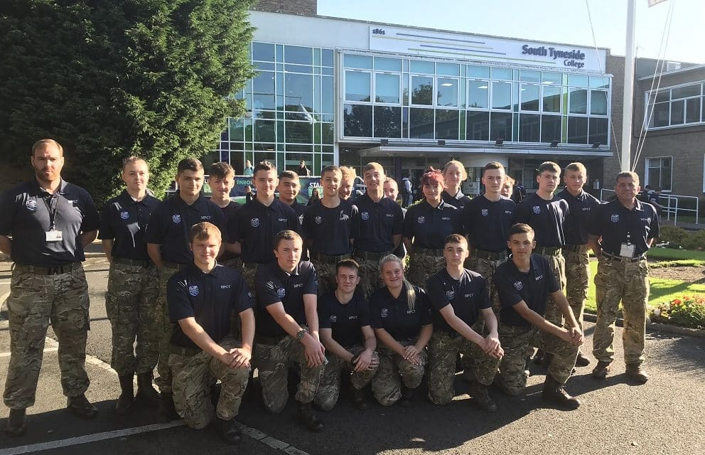 NEW NORTH EAST VENUE FOR MILITARY TRAINEES