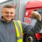 Trucking apprentice Alex shifts from 'Warehouse to Wheels'