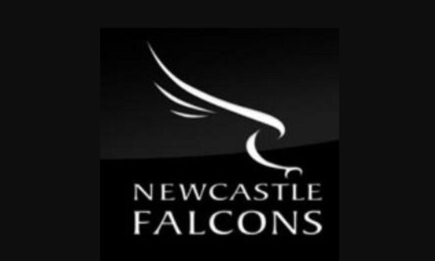 Newcastle Falcons team to face Cornish Pirates