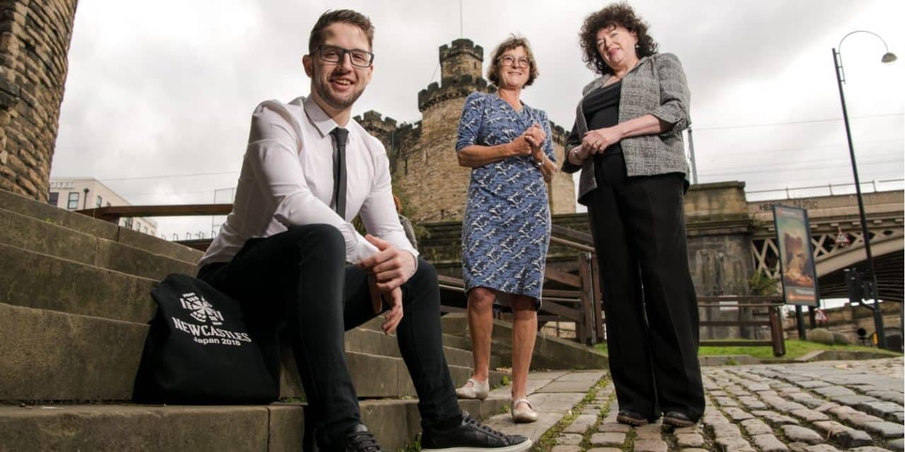Student swaps North East for Far East in unique work placement