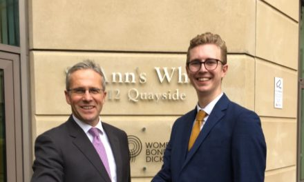 Northumbria student scoops first Cyber Law award from top transatlantic firm