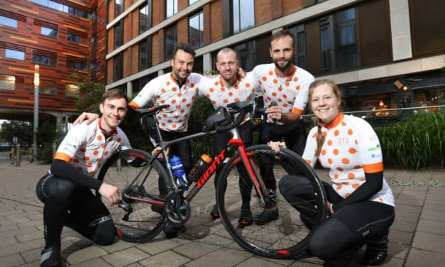 The Ultimate Ride to Work – staff at GT3 Architects raise over £2500 for charity during 220-mile journey
