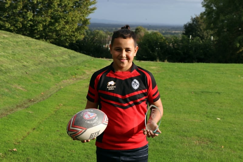 Top rugby honours for North East's star player