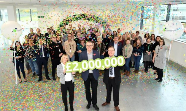 North East Building Society Community Fund Tops £2M