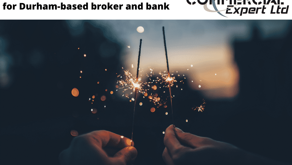 £3.73m deal lighting up the month for Durham-based broker and bank