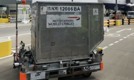 BAGS TO THE FUTURE – BRITISH AIRWAYS TRIALS GREEN DRIVERLESS VEHICLES AT HEATHROW AIRPORT TO REDUCE DELAYS FOR CUSTOMERS