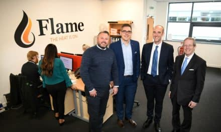 Flame Heating Group hosts visit by chairman of Federation of Small Businesses