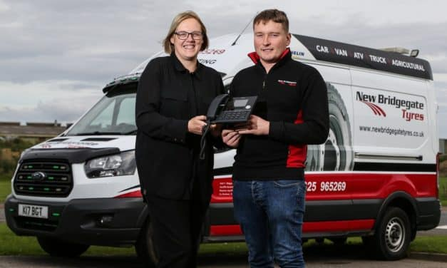 New Bridgegate Tyres Ltd expands with Odyssey support