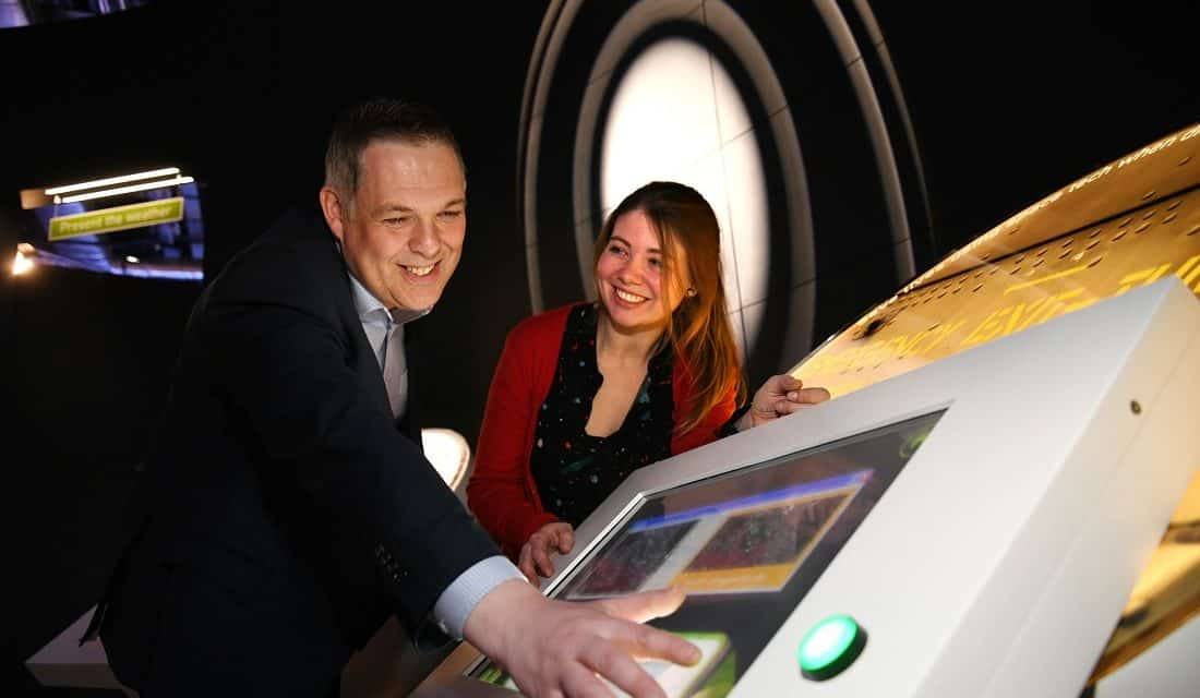 Animmersion helps transport Life Science Centre visitors into the cosmos with new immersive experiences