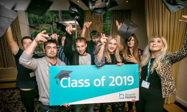 Hats off to Redcar and Cleveland housing apprentice graduates