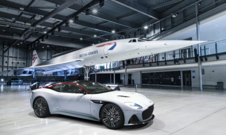 ASTON MARTIN DBS SUPERLEGGERA CONCORDE SPECIAL EDITION IS CLEARED FOR TAKE-OFF